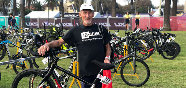 Tri Alliance Athlete at Challenge Melbourne