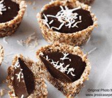 Sammy's Stage: Raw Chocolate and Almond Tart